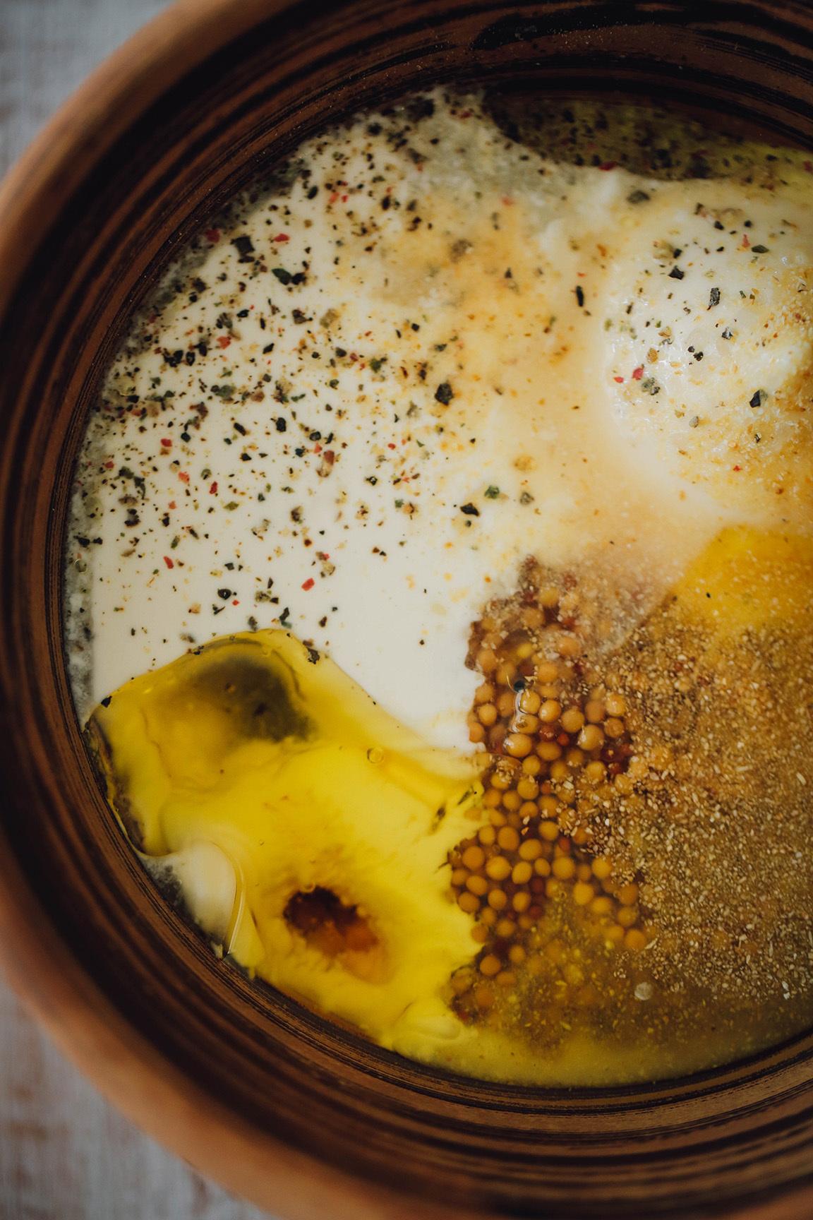 Фото рецепт медово горчичного соуса