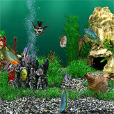 Аквамир - 3D аквариум скриншот 2