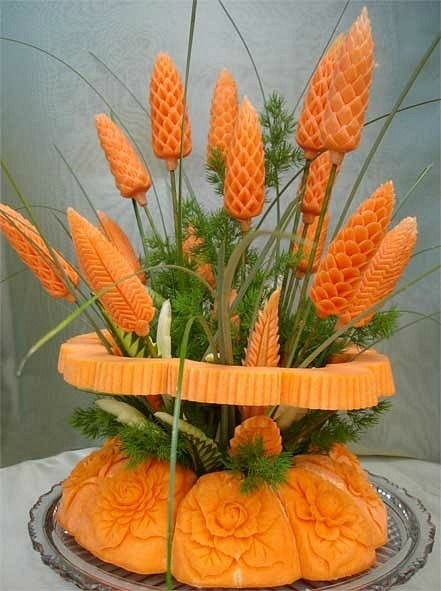 Поделки из моркови и свеклы