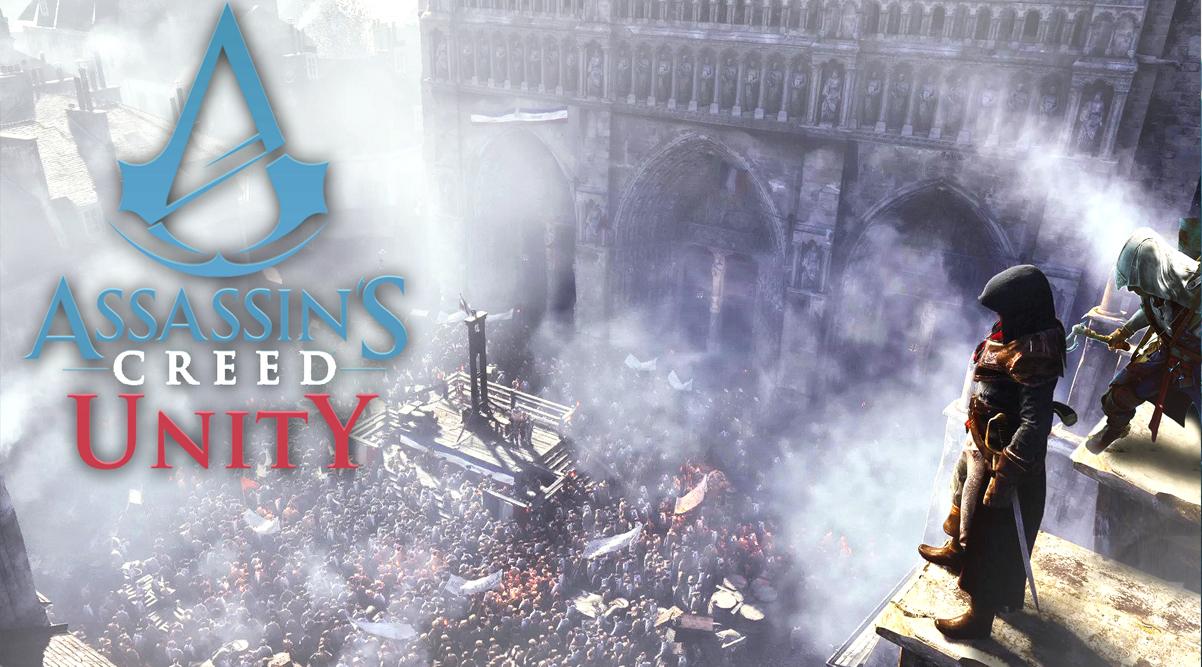 Новые ролики Assassin's creed Unity