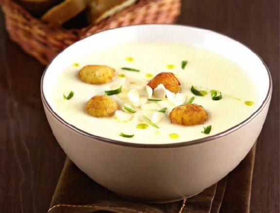 калорийность супа пюре из цветной капусты